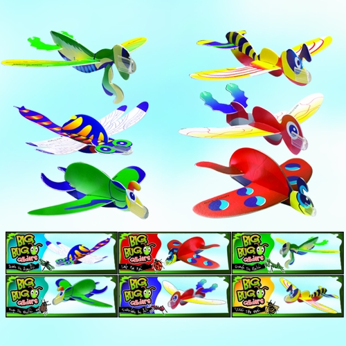 BIG BUGS FOAM GLIDERS