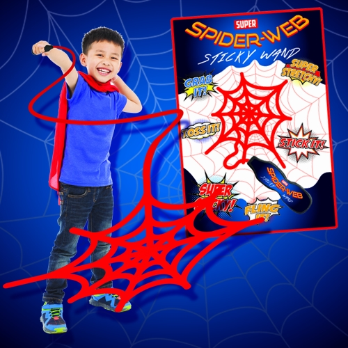 SPIDER-WEB STICKY WAND