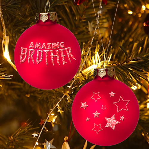 AMAZING BROTHER CHRISTMAS ORNAMENT