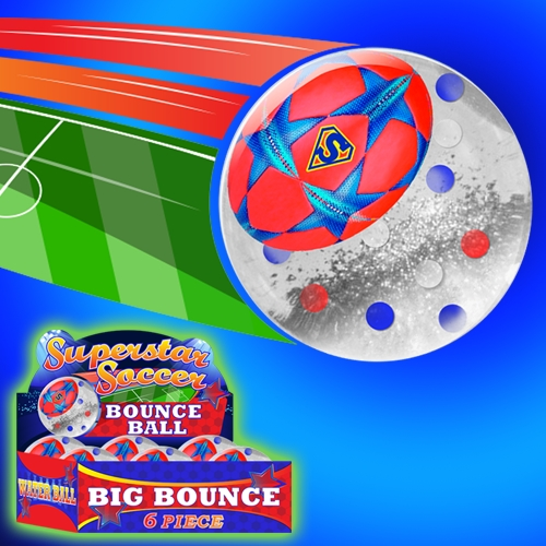 SUPERSTAR SOCCER BOUNCE BALL