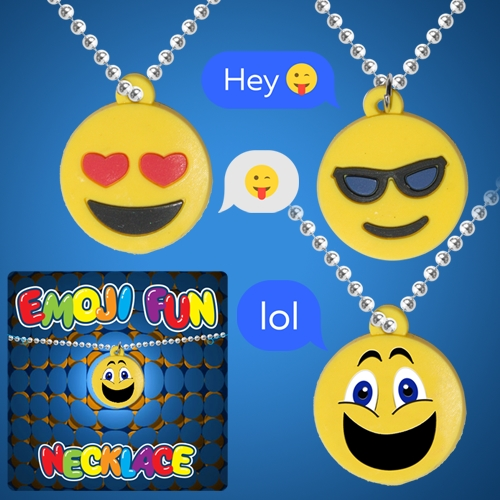 EMOJI SILICONE NECKLACE