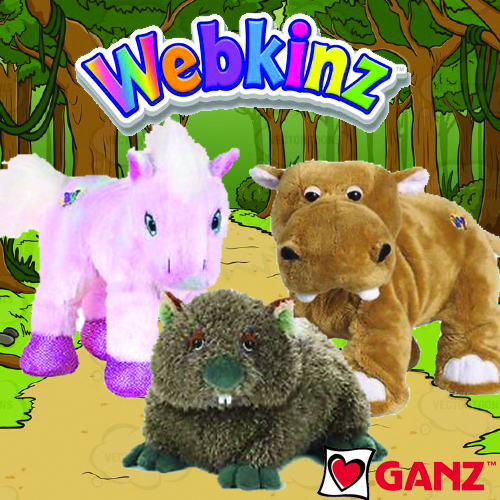 WEBKINZ PLUSH BY GANZ