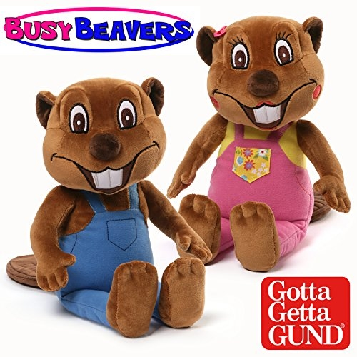 BUSY BEAVERS PLUSH BY GUND