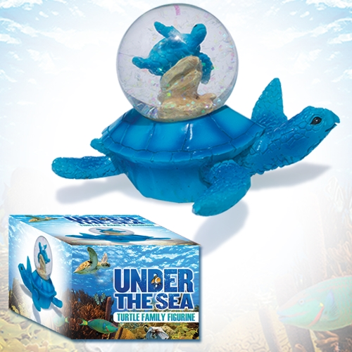 UNDER THE SEA TURTLE FAMILY FIGURE
