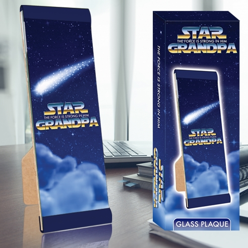 STAR GRANDPA PLAQUE
