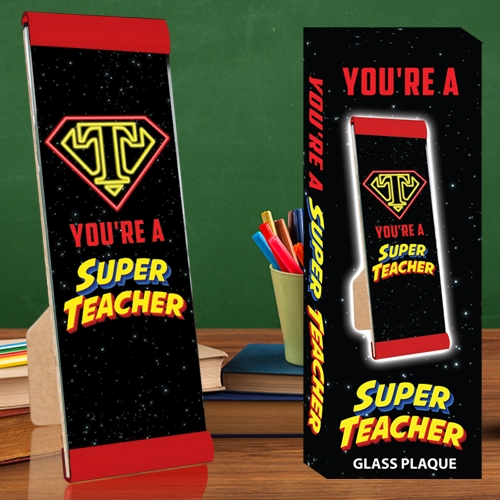 SUPER TEACHER PLAQUE