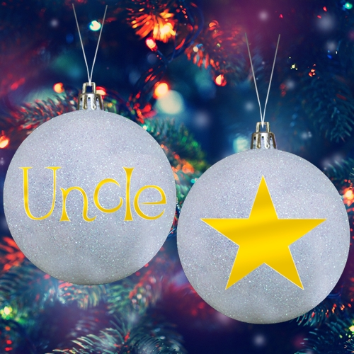 STAR UNCLE ORNAMENT