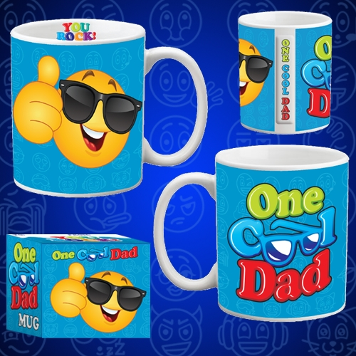 ONE COOL DAD MUG