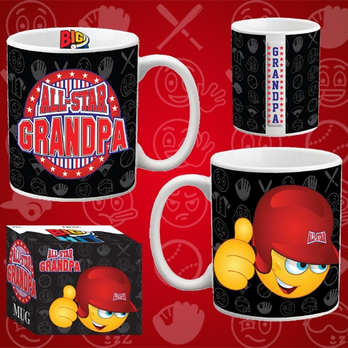 ALL STAR GRANDPA MUG