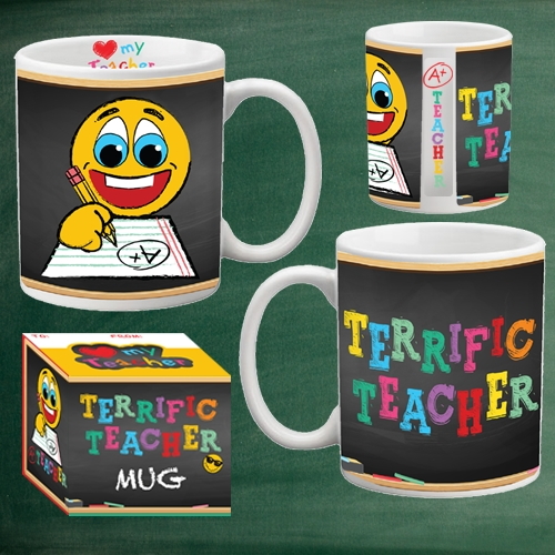 TERRIFIC TEACHER MUG
