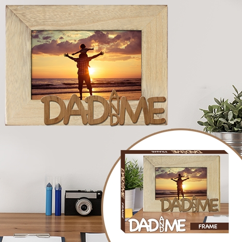 DAD & ME WOODEN FRAME