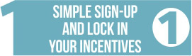 Sign up for your holiday shop incentives