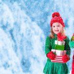 Warm school holiday shop