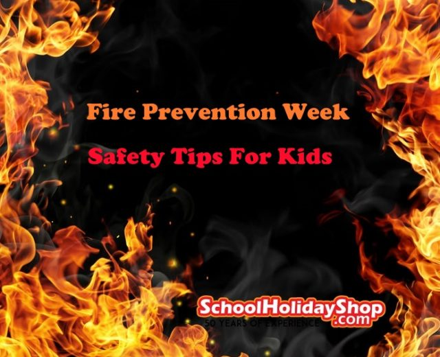 Fire Prevention Week Tips 2018